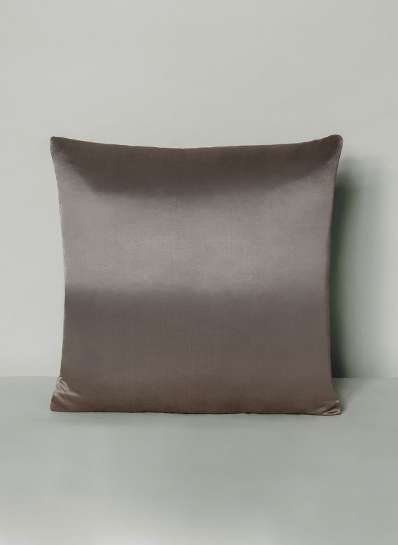 dark grey luxury throw pillow